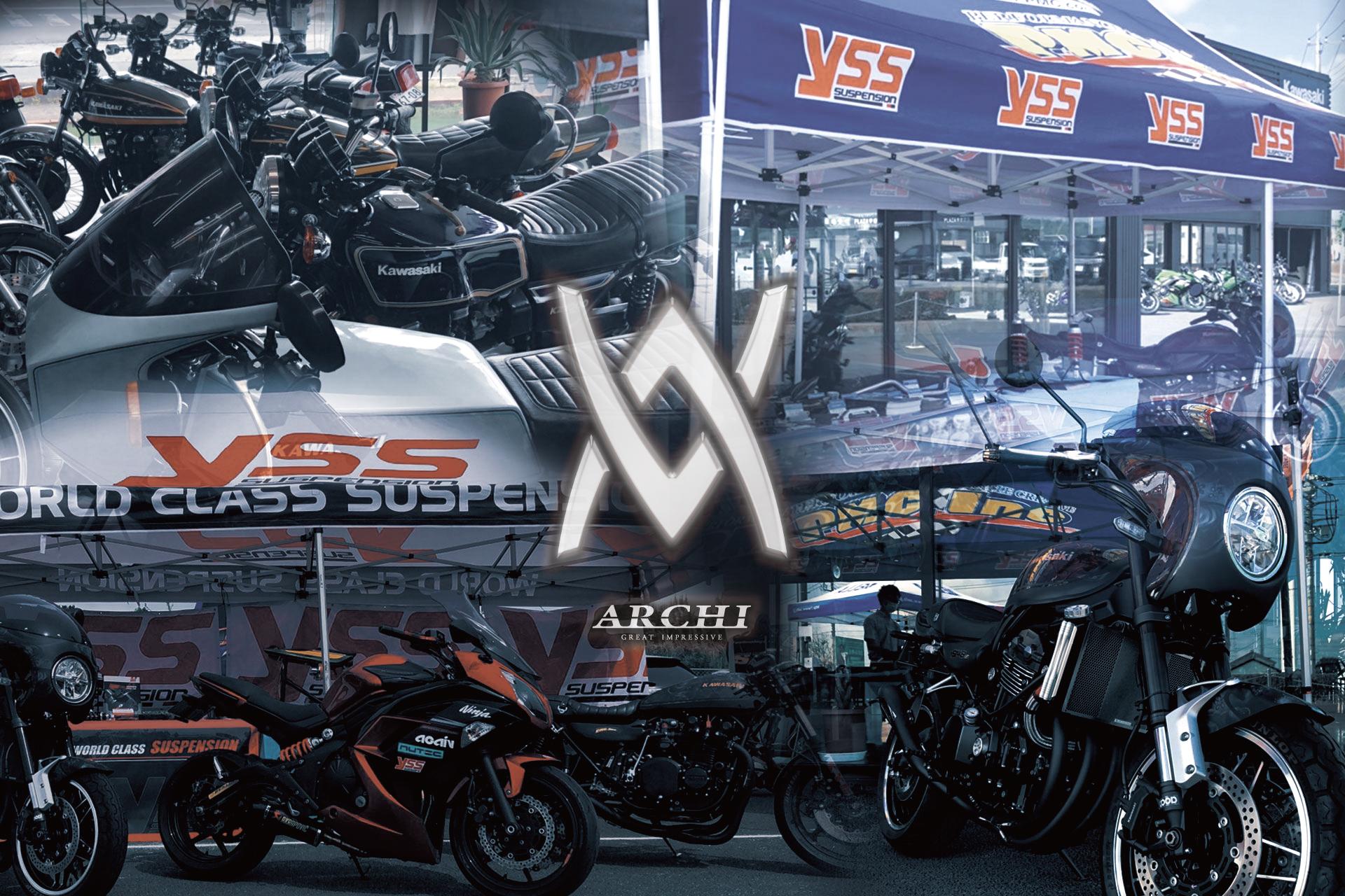 記事 2021年4月11日(日)ARCHIxYSS 店頭イベント in ライコランド水戸のアイキャッチ画像