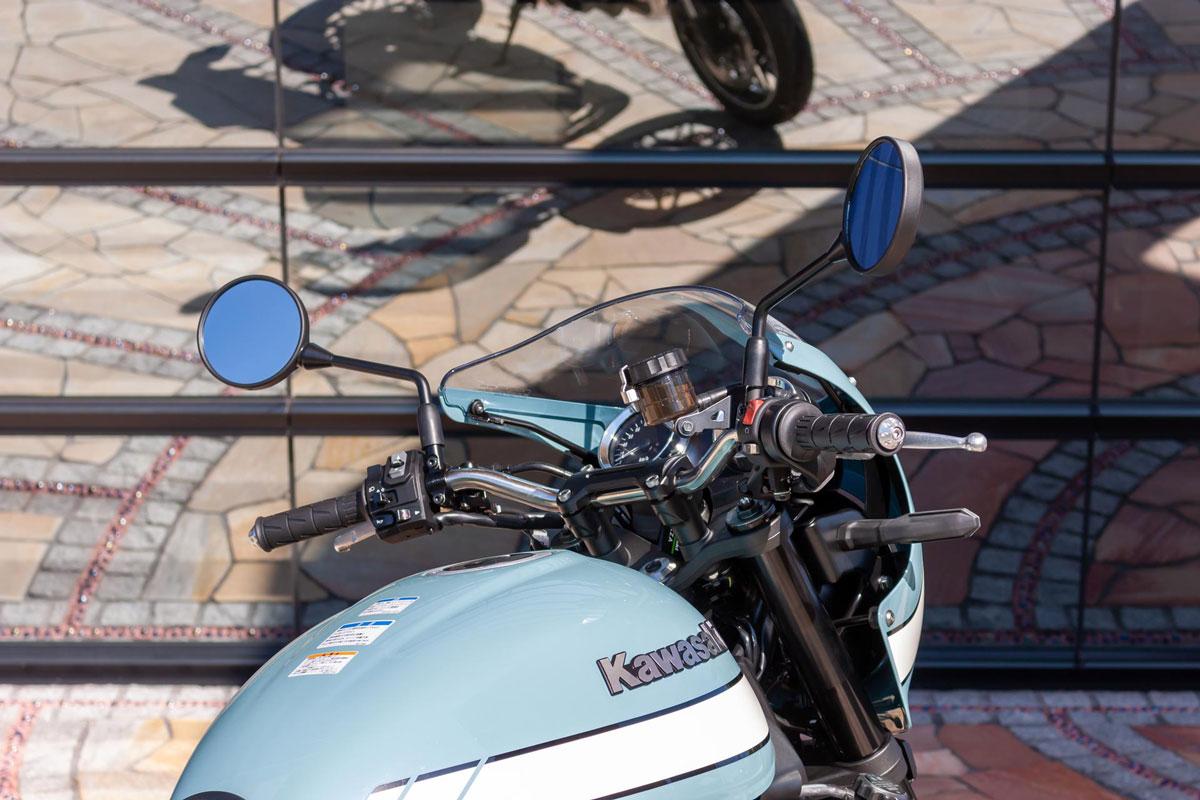 記事 ≪Z900RS/CAFE専用 ステンレスハンドルバー Super Bikeの開発≫のアイキャッチ画像