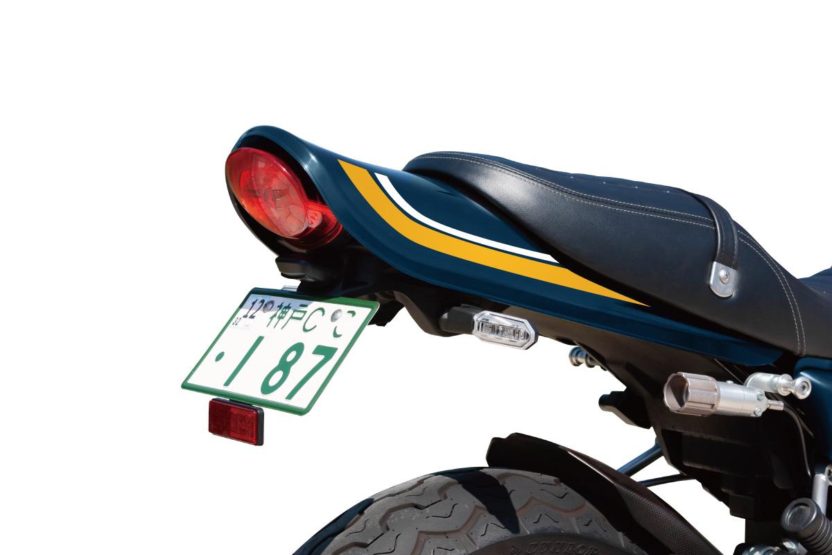 記事 ≪Z900RS専用 ABSロングテールカウルver.2 青玉虫ラインナップします!≫のアイキャッチ画像